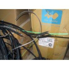 Оптический кабель Б/У для внешней прокладки (с металлическим тросом) в Красково, оптокабель БУ (Красково)