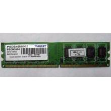 Модуль оперативной памяти 4Gb DDR2 Patriot PSD24G8002 pc-6400 (800MHz)  (Красково)